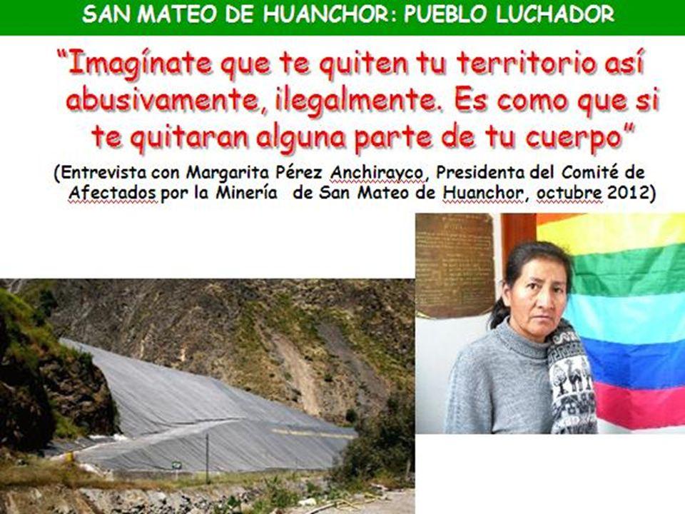 SAN MATEO DE HUANCHOR: PUEBLO LUCHADOR