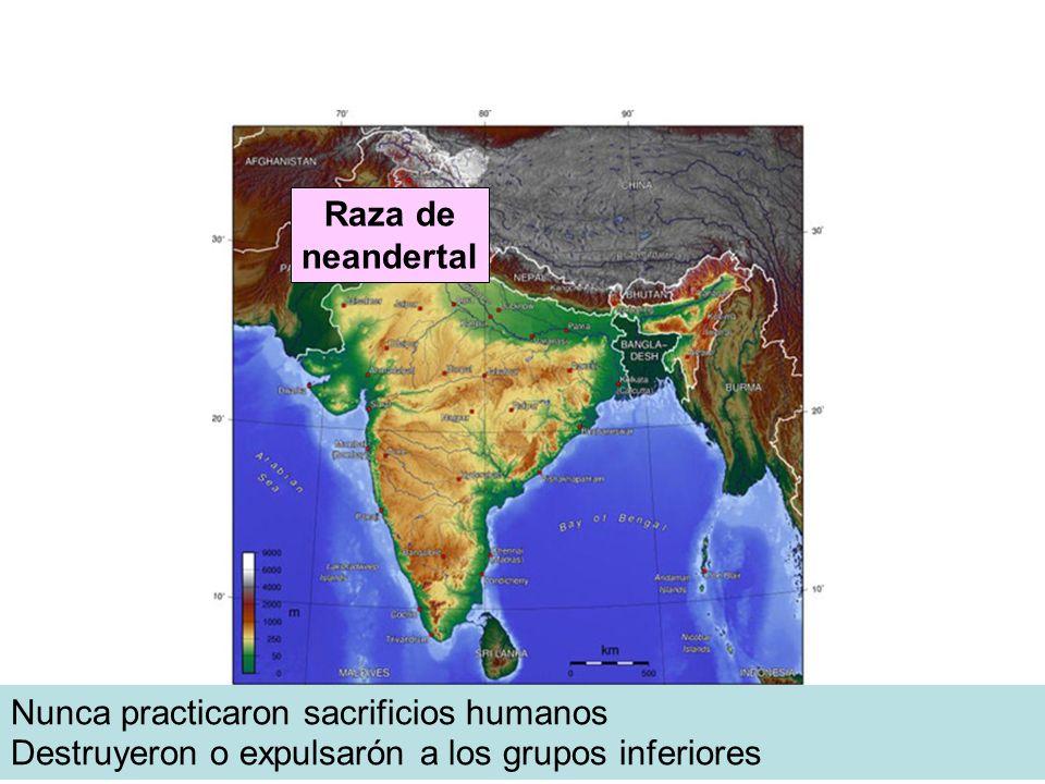Tribus de Badonán Nunca practicaron sacrificios humanos Raza de neandertal Destruyeron o expulsarón a los grupos inferiores