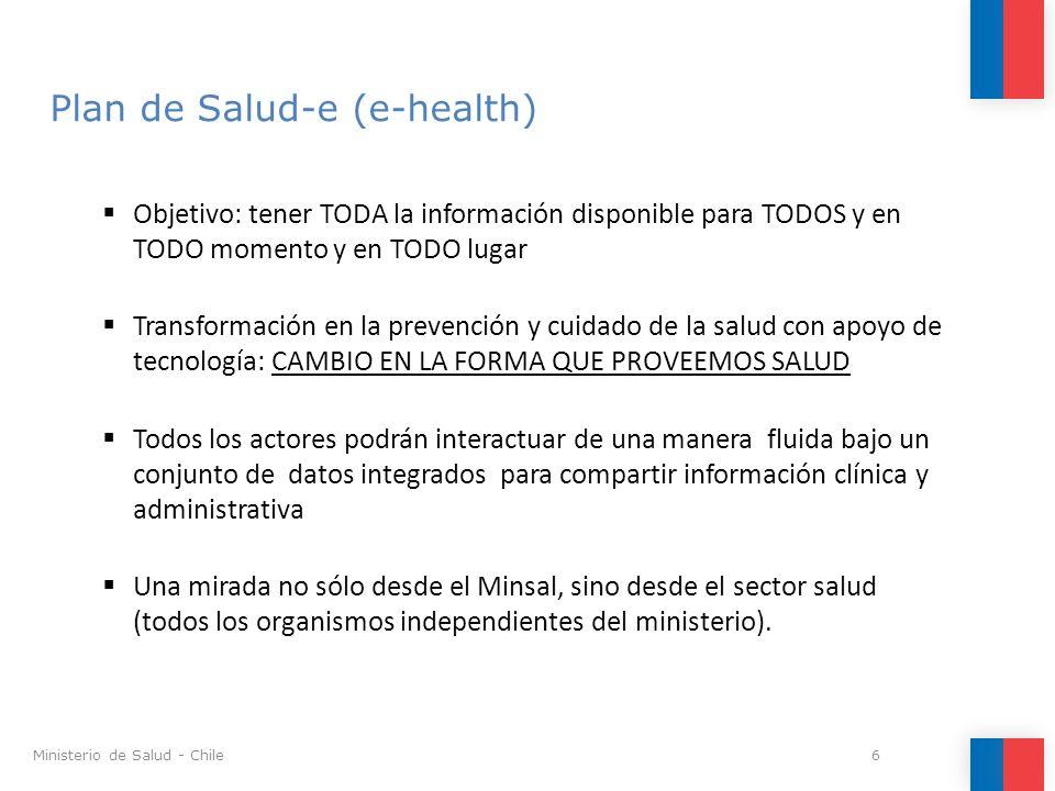 Portal de Salud Digital (www.salud-e.cl) 27