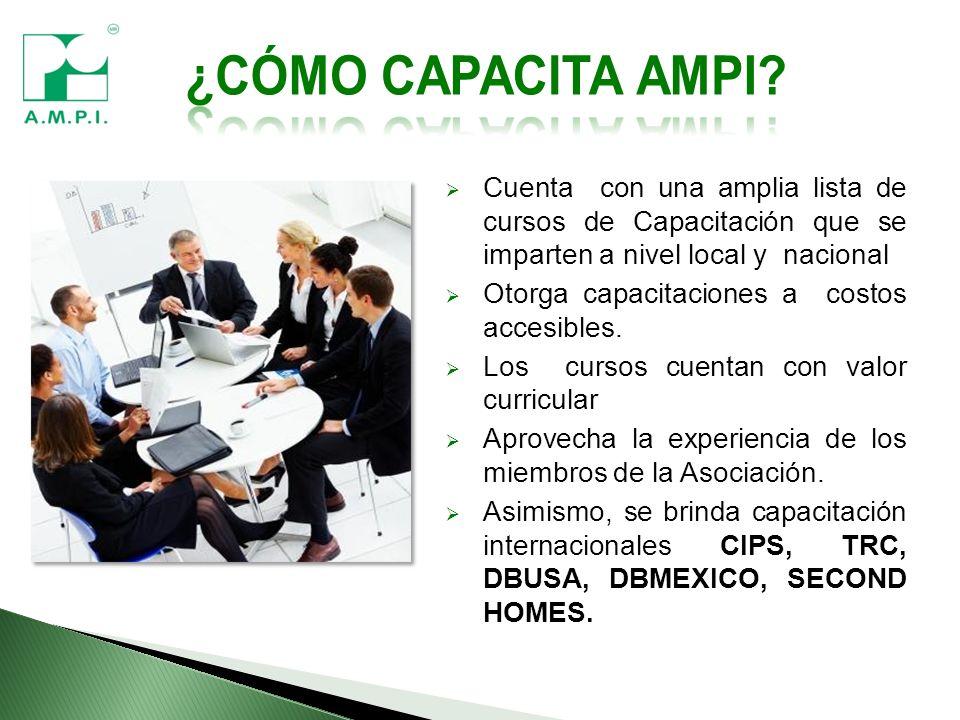 Cuenta con una amplia lista de cursos de Capacitación que se imparten a nivel local y nacional Otorga capacitaciones a costos accesibles.