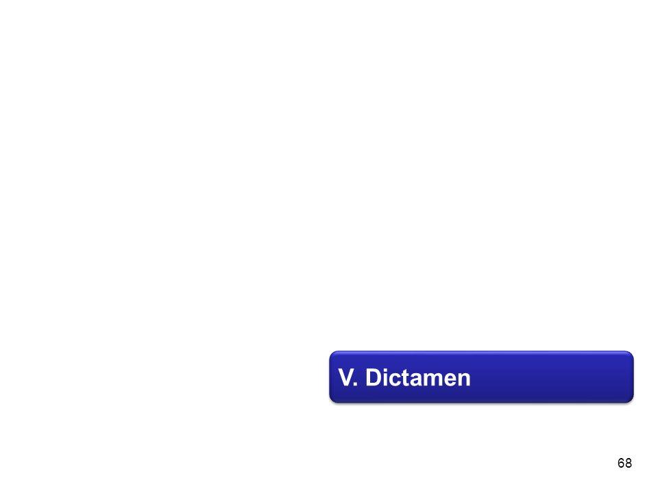 V. Dictamen 68