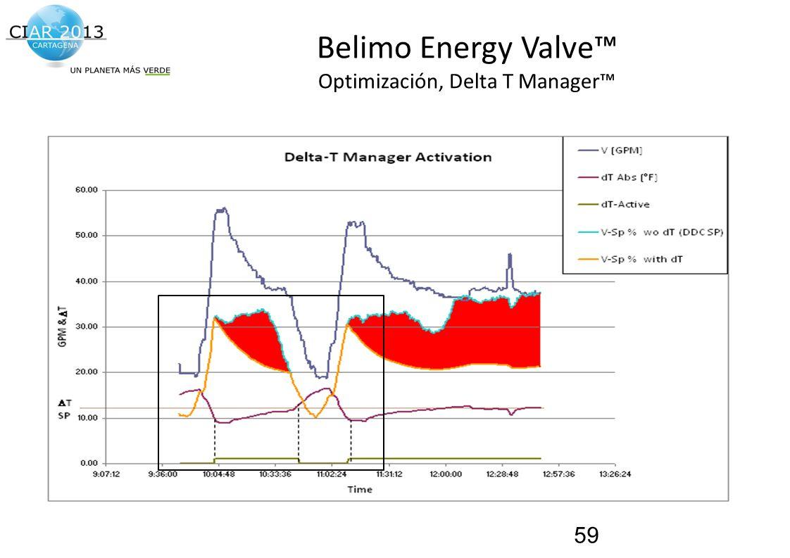 Traemos al presente el futuro de la construcción! Belimo Energy Valve Optimización, Delta T Manager 59