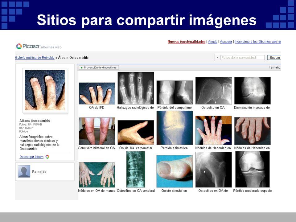 Sitios para compartir imágenes