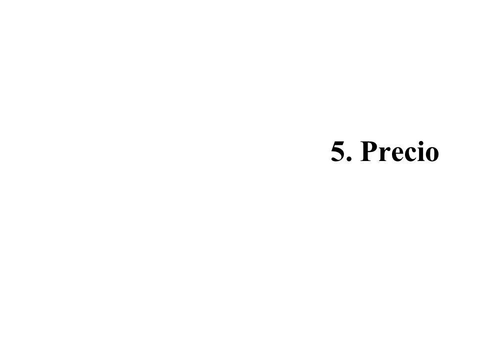 5. Precio