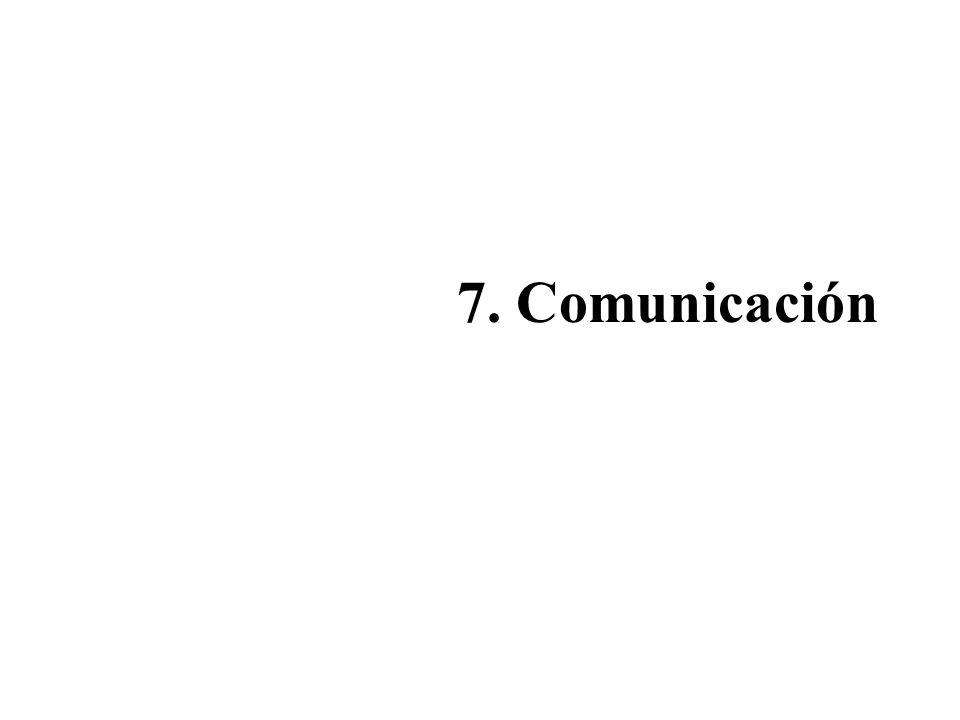 7. Comunicación