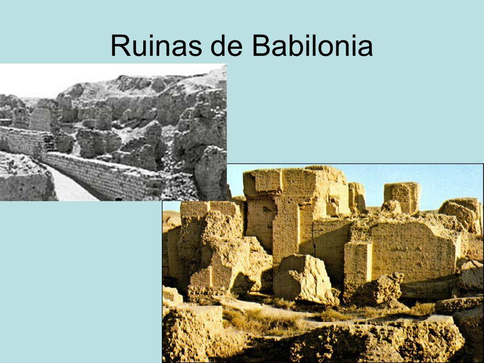 Ruinas de Babilonia