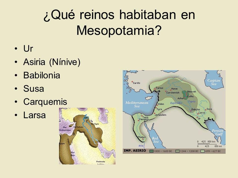 Nínive era la capital de Asiria Asiria tenía bajo su yugo a todos los pueblos que vivían entre Armenia y Egipto.