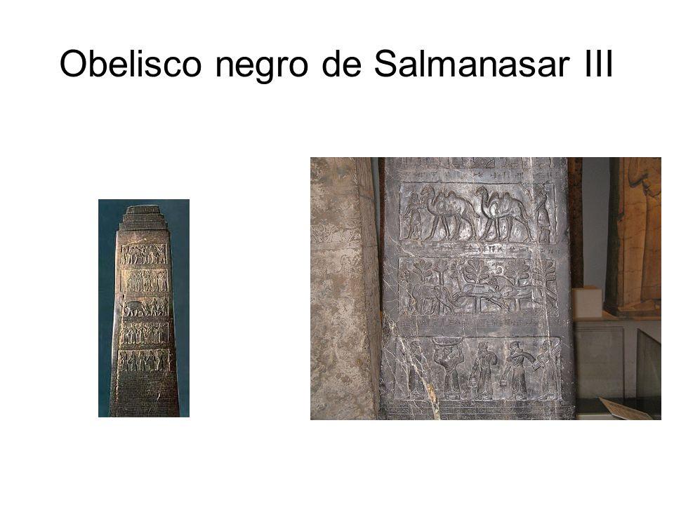 Obelisco negro de Salmanasar III