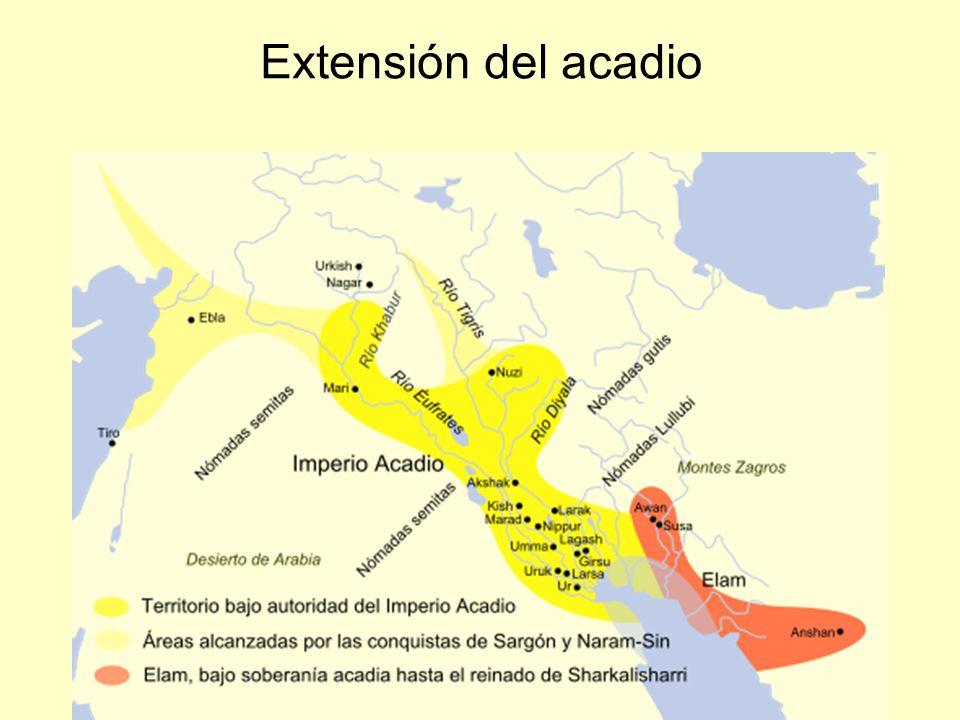 Extensión del acadio