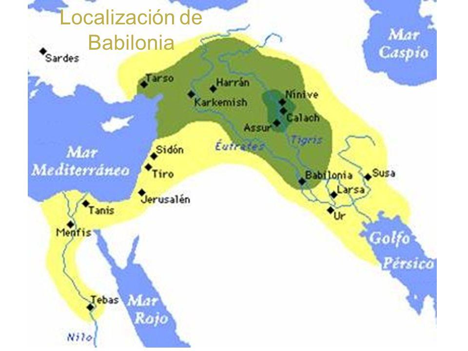 Localización de Babilonia