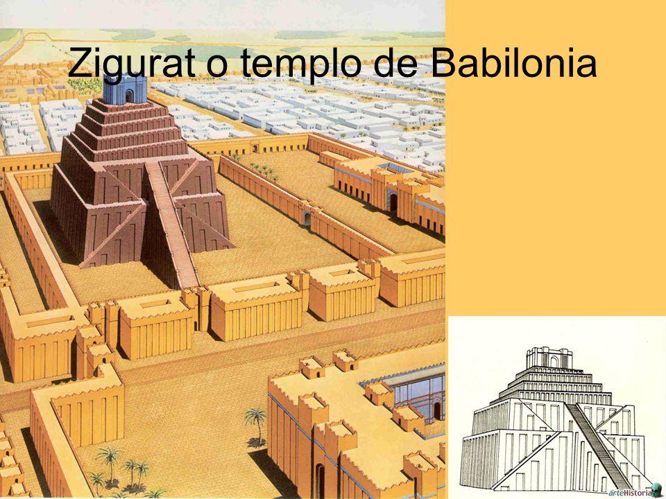 Zigurat o templo de Babilonia