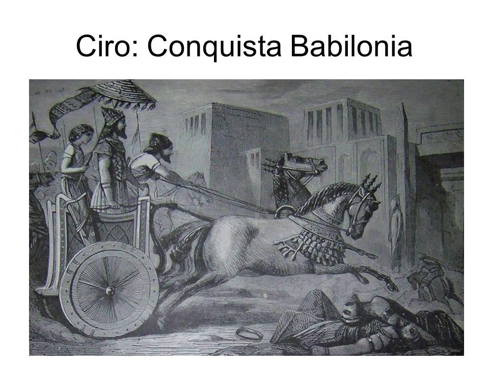 Ciro: Conquista Babilonia