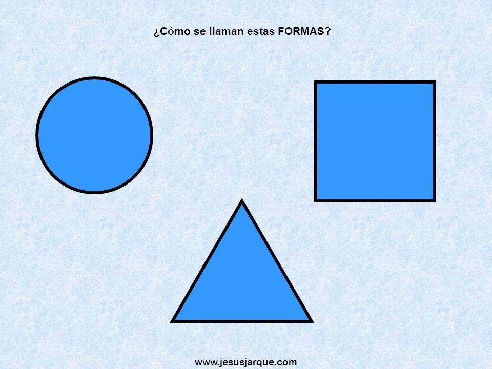 www.jesusjarque.com ¿Cómo se llaman estas FORMAS?
