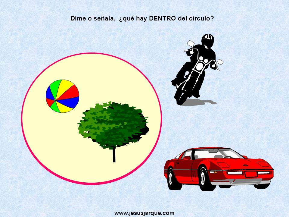 www.jesusjarque.com Dime o señala ¿Cuál va más DEPRISA, el coche o la bicicleta?