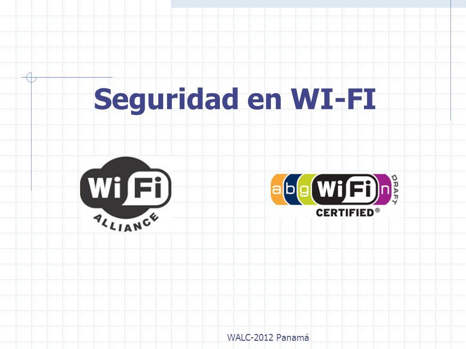 Seguridad en Dispositivos Bluetooth WALC-2012 Panamá