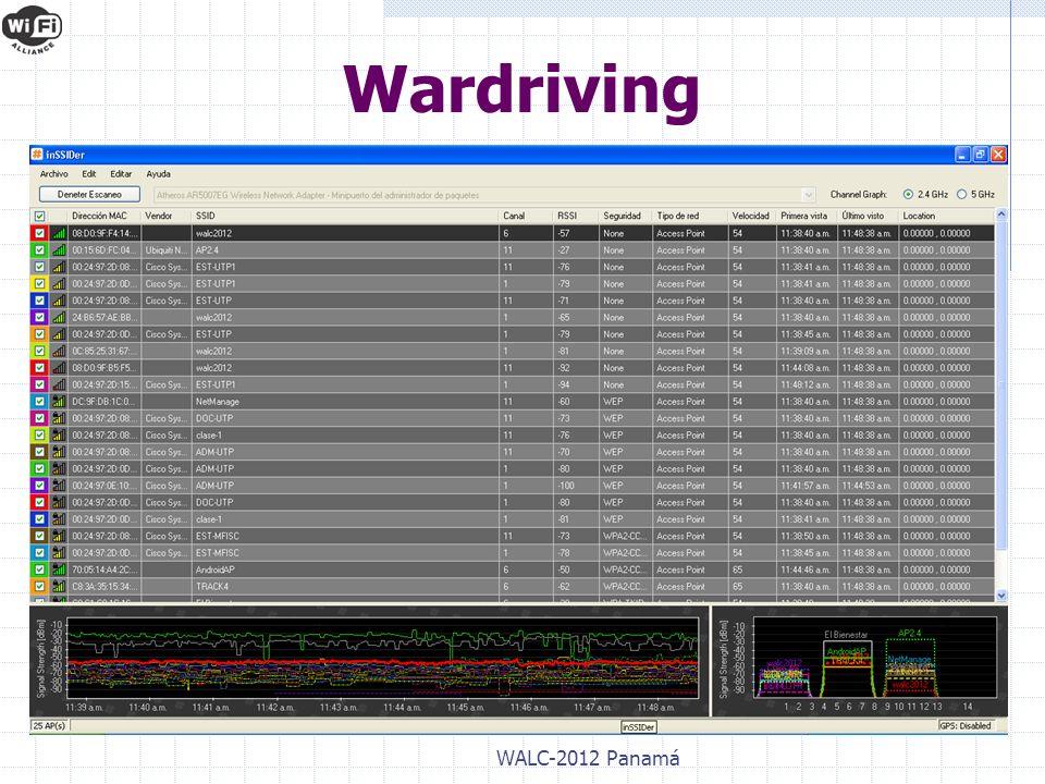 WALC-2012 Panamá Wardriving