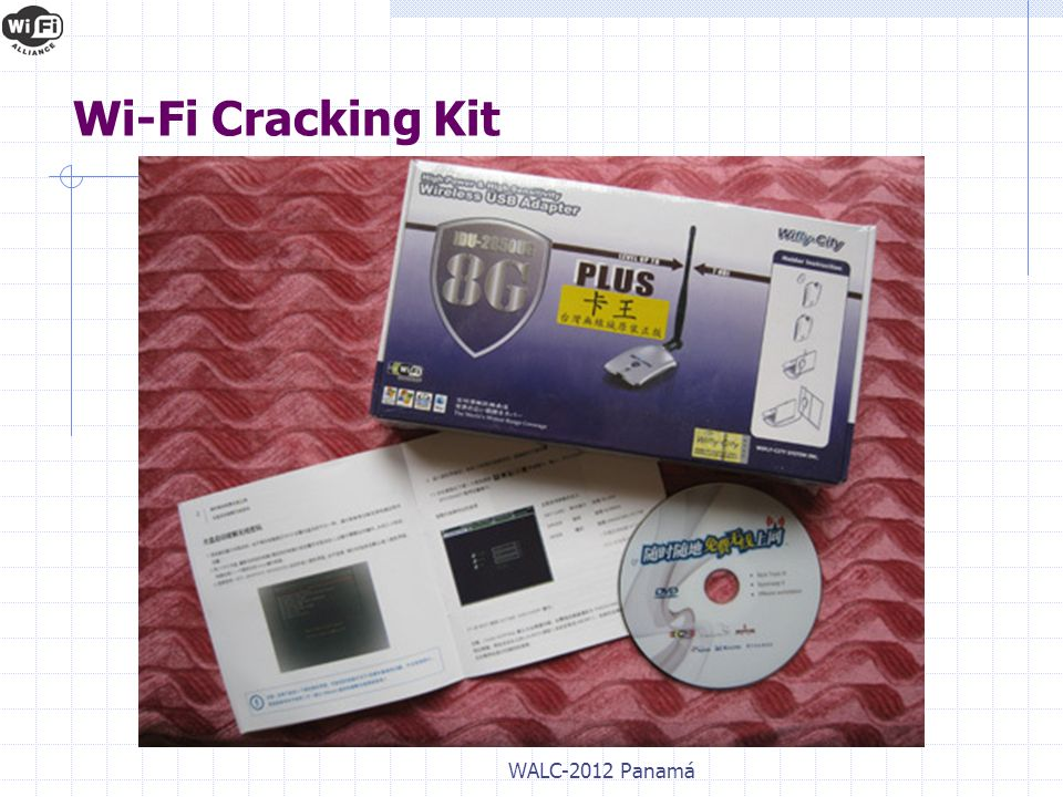 WALC-2012 Panamá Wi-Fi Cracking Kit