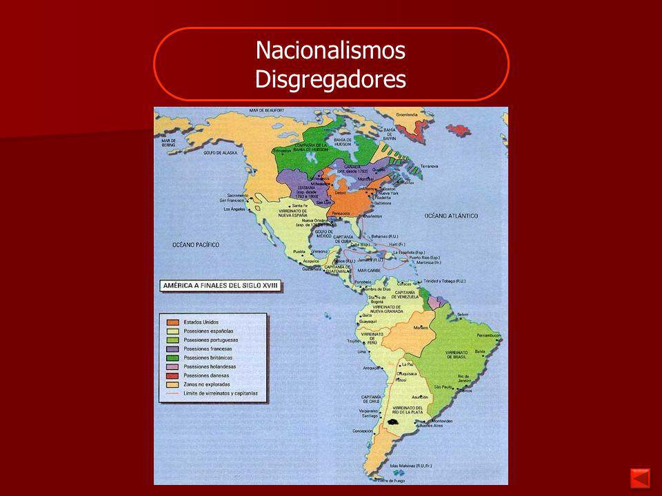 Nacionalismos Unificadores Varios Estados independientes deciden unirse, y constituirse en una nueva nación.