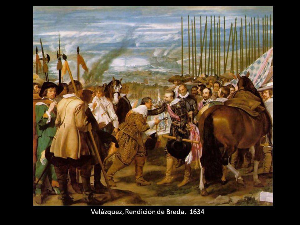 Velázquez, Rendición de Breda, 1634