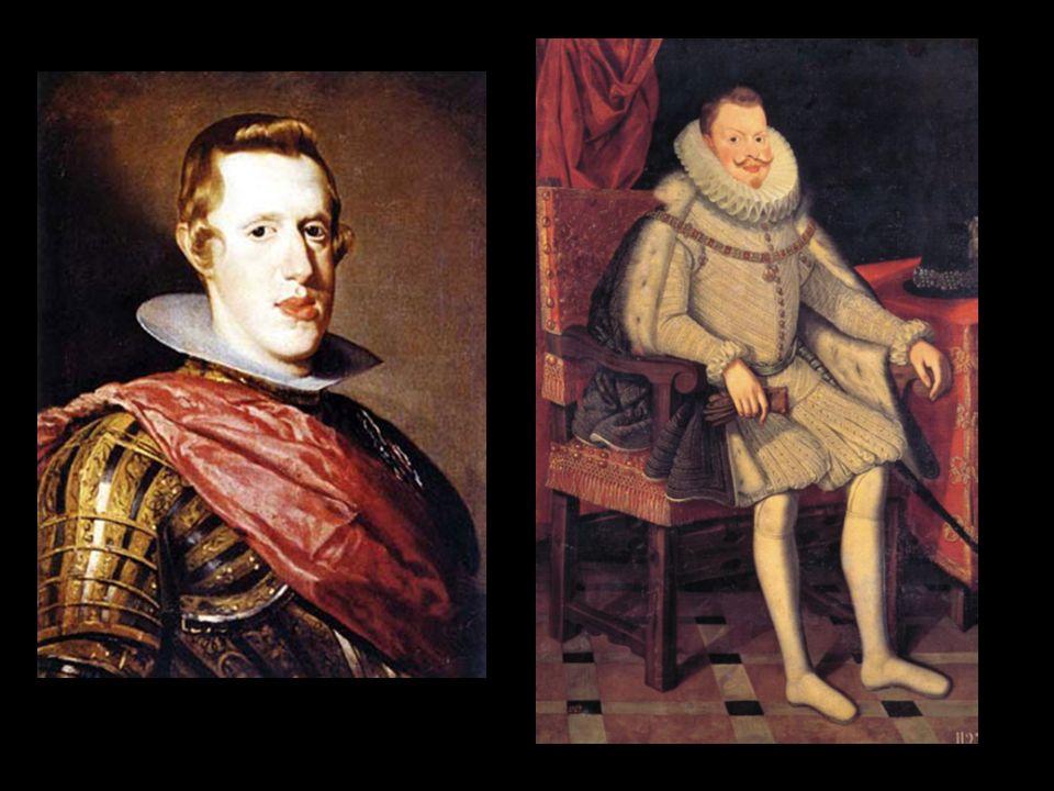 Reinado de Felipe III - la aristocracia se acerca a la corona - época de ostentación del lujo - 1599 emisión de moneda de vellón - 1601-1606 la corte se traslada a Valladolid - 1604 Tratado de Londres - 1607 bancarrota - 1609 expulsión de los moriscos * destierro de 275.000 moriscos * sobre todo labradores * daño a la agricultura - 1609 tregua de los doce años - disparidad social: burguesía como estado transitorio - 1618 caída del Duque de Lerma - 1618-1621 es valido el Duque de Uceda, hijo de Duque de Lerma - 1619 Junta de Reformación : toma de conciencia tardía por parte del Felipe III.