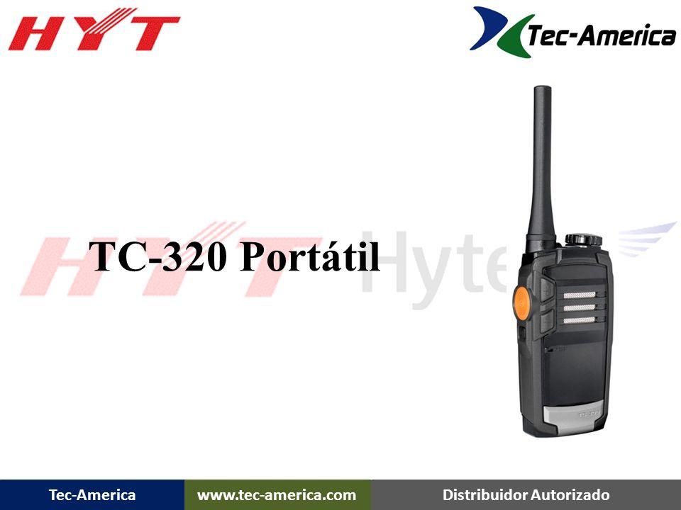 Tec-Americawww.tec-america.comDistribuidor Autorizado TC-320 Portátil