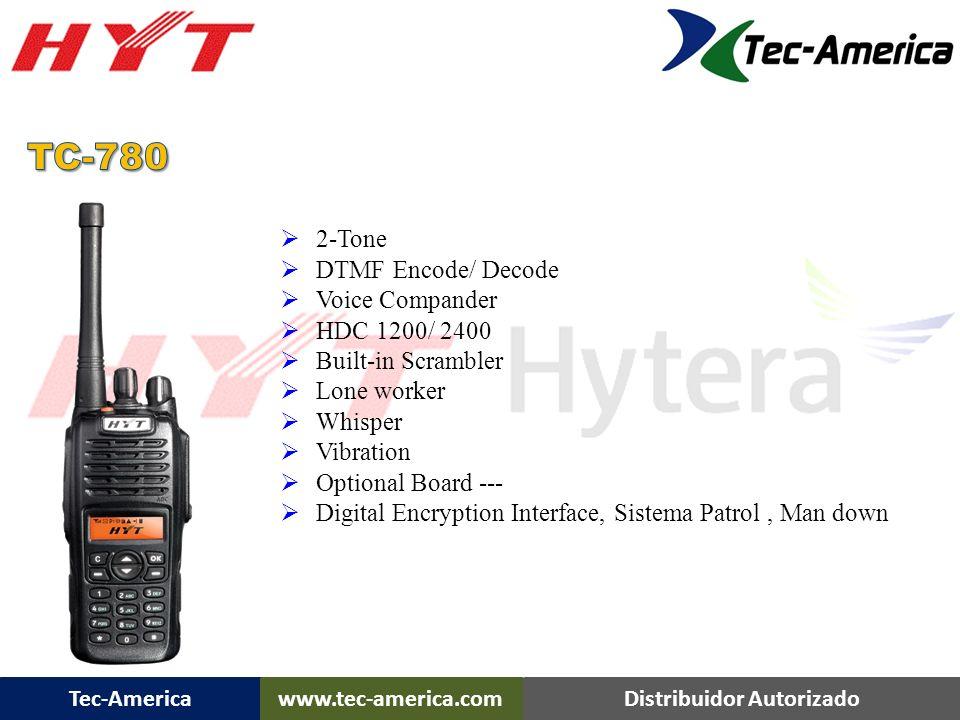 Tec-Americawww.tec-america.comDistribuidor Autorizado TC-780 Portátil