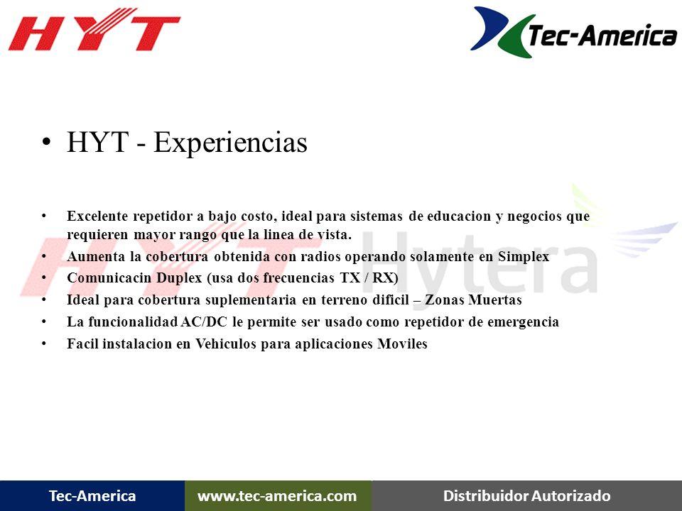 Tec-Americawww.tec-america.comDistribuidor Autorizado TR-50 con Bracket para instalar Duplexor – 5 Mhz TR-50 Features….