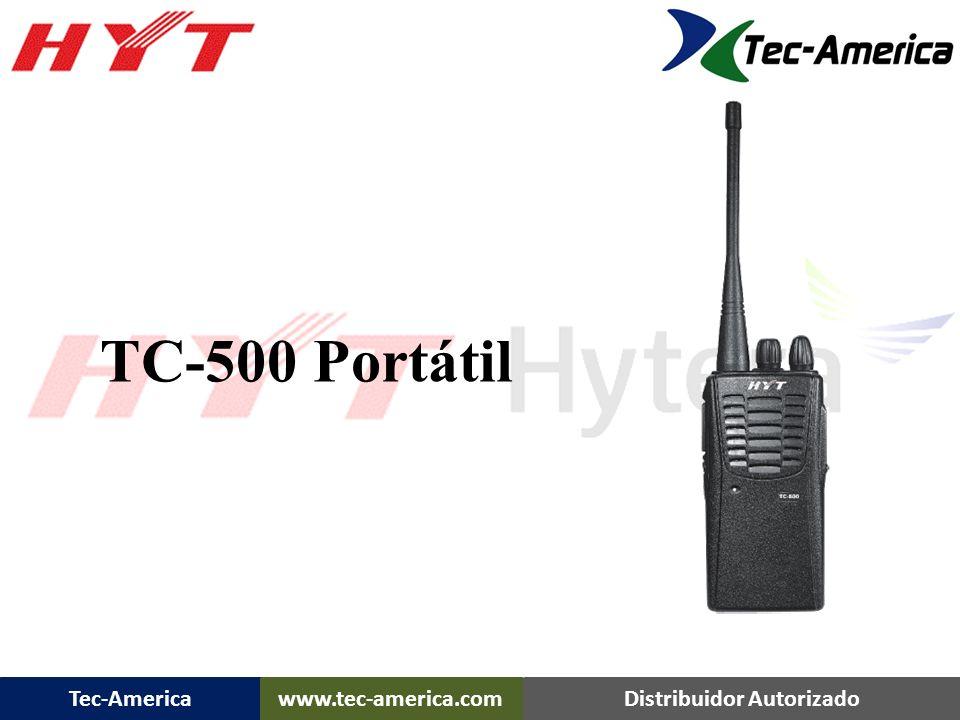 Tec-Americawww.tec-america.comDistribuidor Autorizado TC-500 Portátil