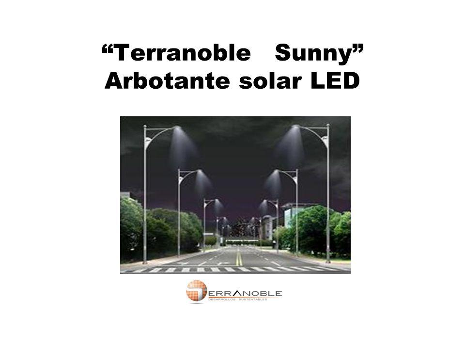 Terranoble Sunny Arbotante solar LED