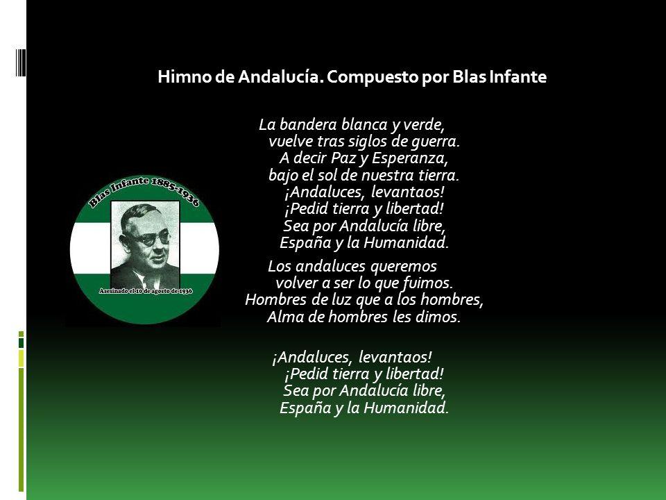 BLAS INFANTE Blas Infante Pérez de Vargas nació en Casares, un municipio de la provincia de Málaga el 5 de Julio de 1.885.