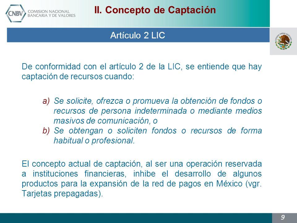 9 Artículo 2 LIC II.