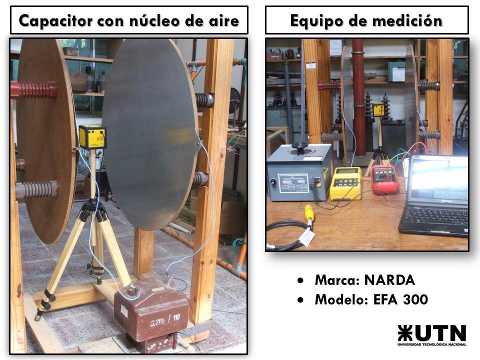 Marca: NARDA Modelo: EFA 300 Capacitor con núcleo de aire Equipo de medición