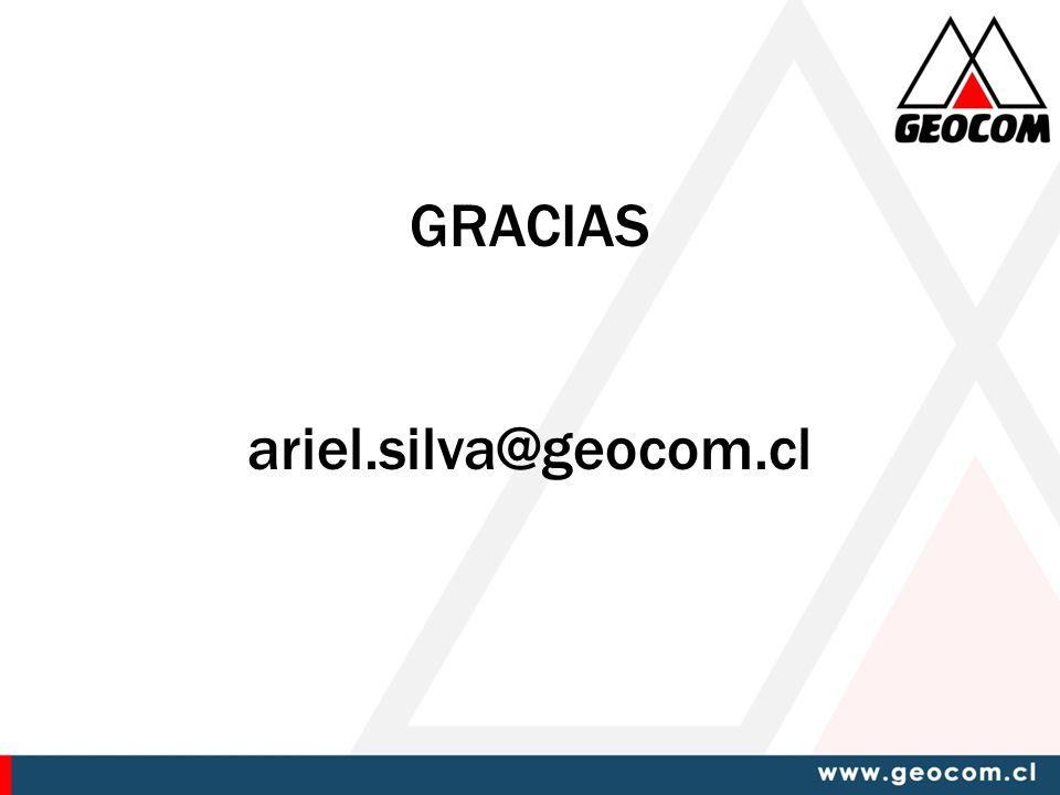GRACIAS ariel.silva@geocom.cl