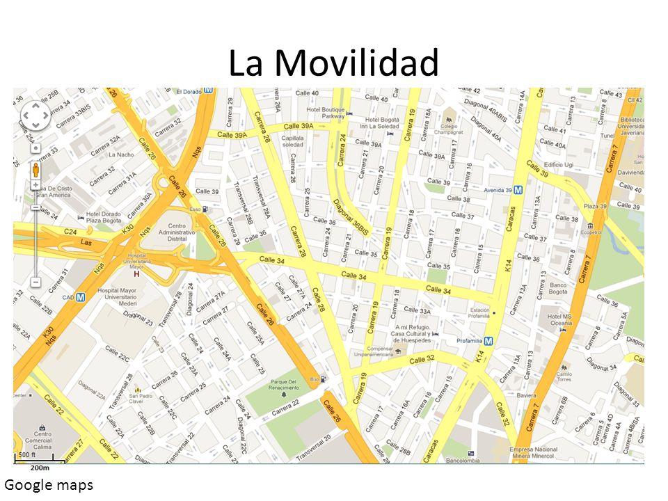 La Movilidad Google maps