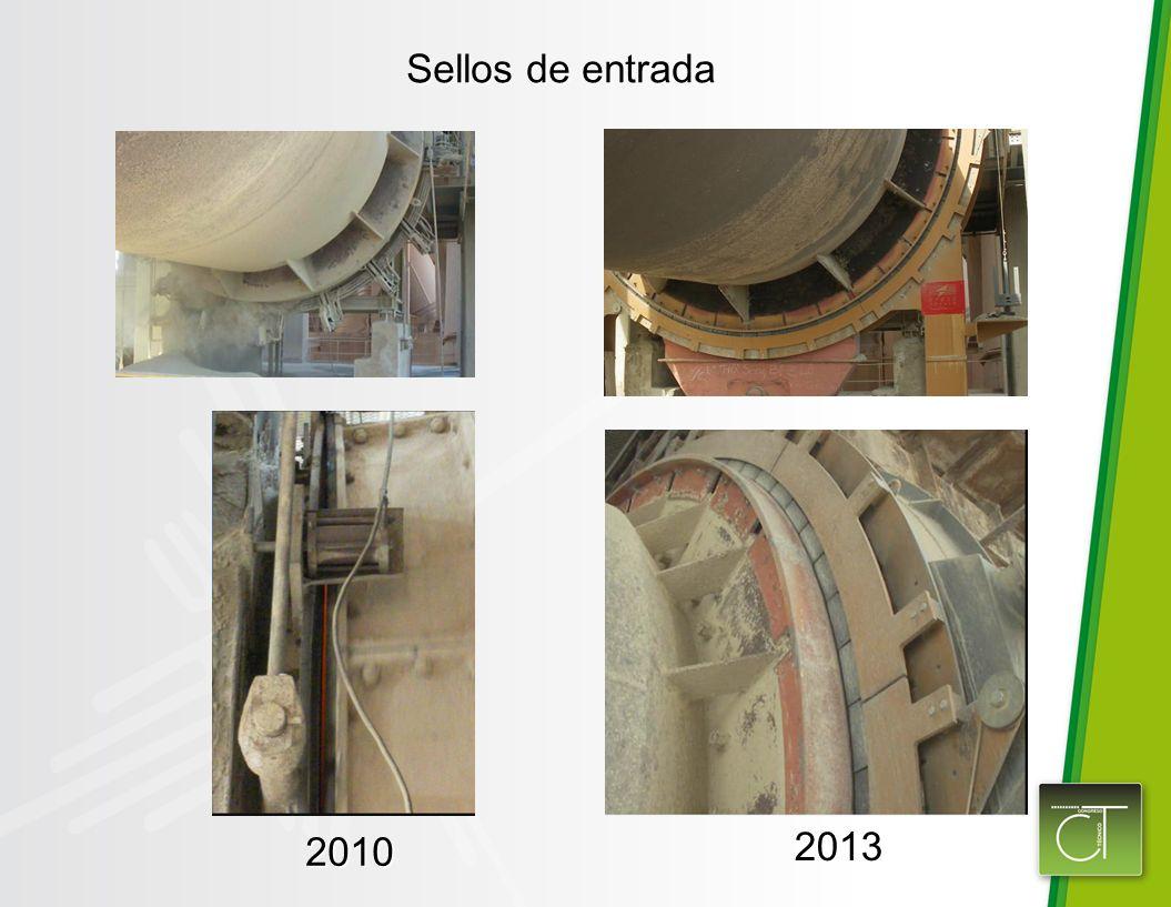 Sellos de entrada 2010 2013