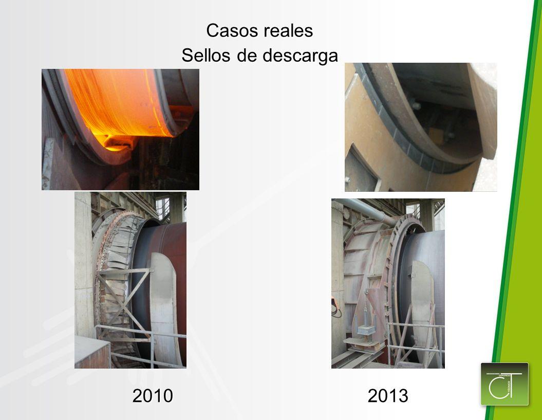 Casos reales Sellos de descarga 20102013