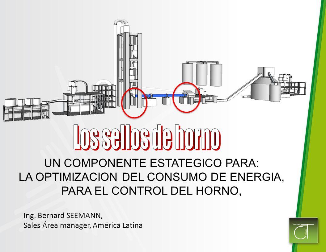 UN COMPONENTE ESTATEGICO PARA: LA OPTIMIZACION DEL CONSUMO DE ENERGIA, PARA EL CONTROL DEL HORNO, Ing.