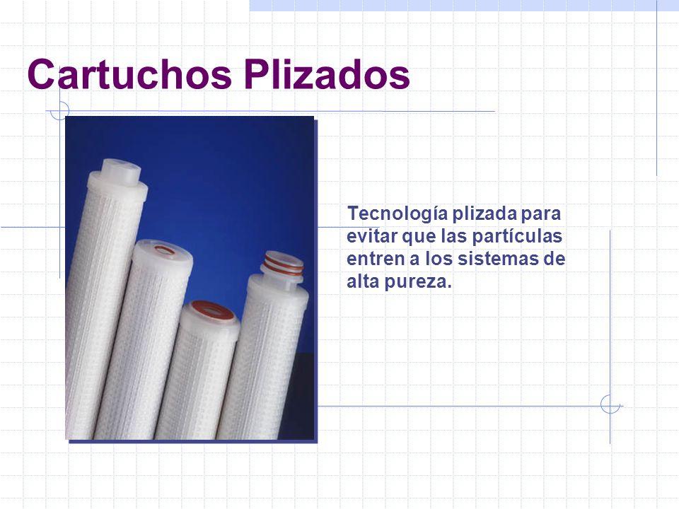 Filtros de Microfibra Protección de las membranas de la Osmosis Inversa impidiendo el paso de grandes partículas al sistema.