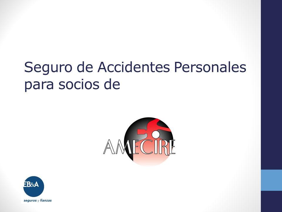 Seguro de Accidentes Personales para socios de