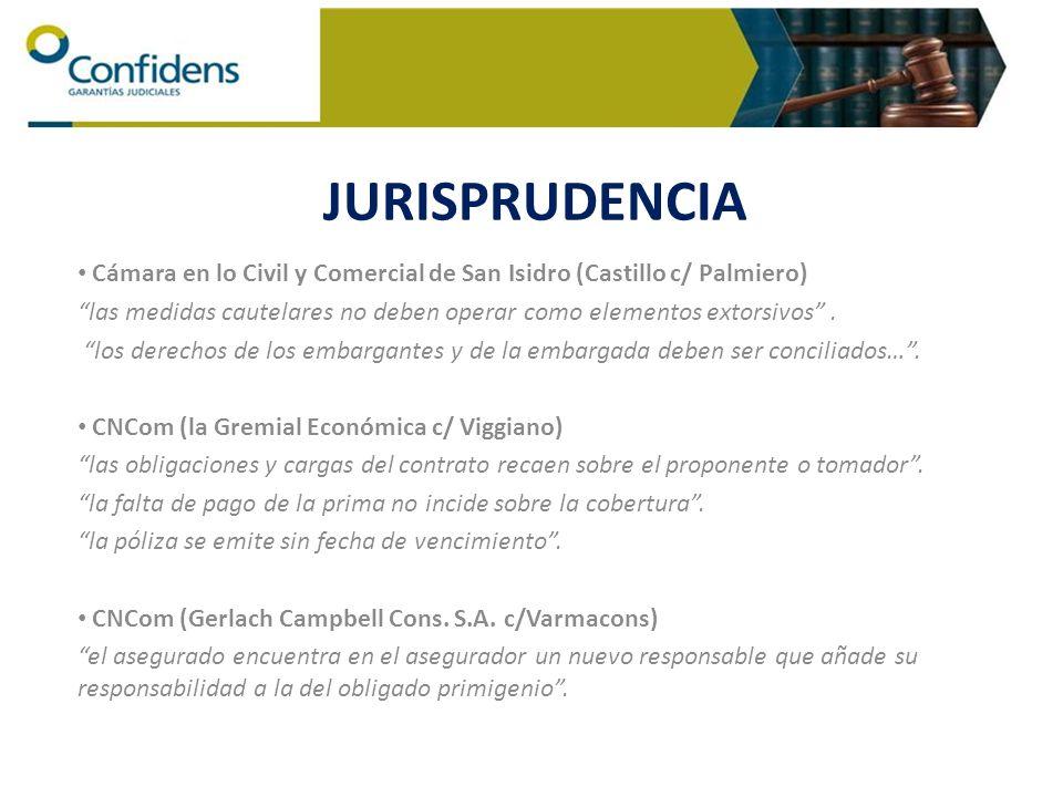 Cámara en lo Civil y Comercial de San Isidro (Castillo c/ Palmiero) las medidas cautelares no deben operar como elementos extorsivos. los derechos de