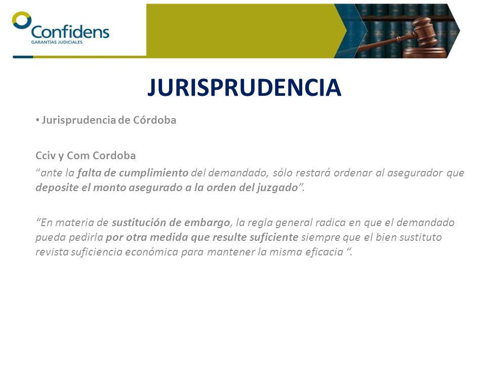 Jurisprudencia de Córdoba Cciv y Com Cordoba ante la falta de cumplimiento del demandado, sólo restará ordenar al asegurador que deposite el monto ase