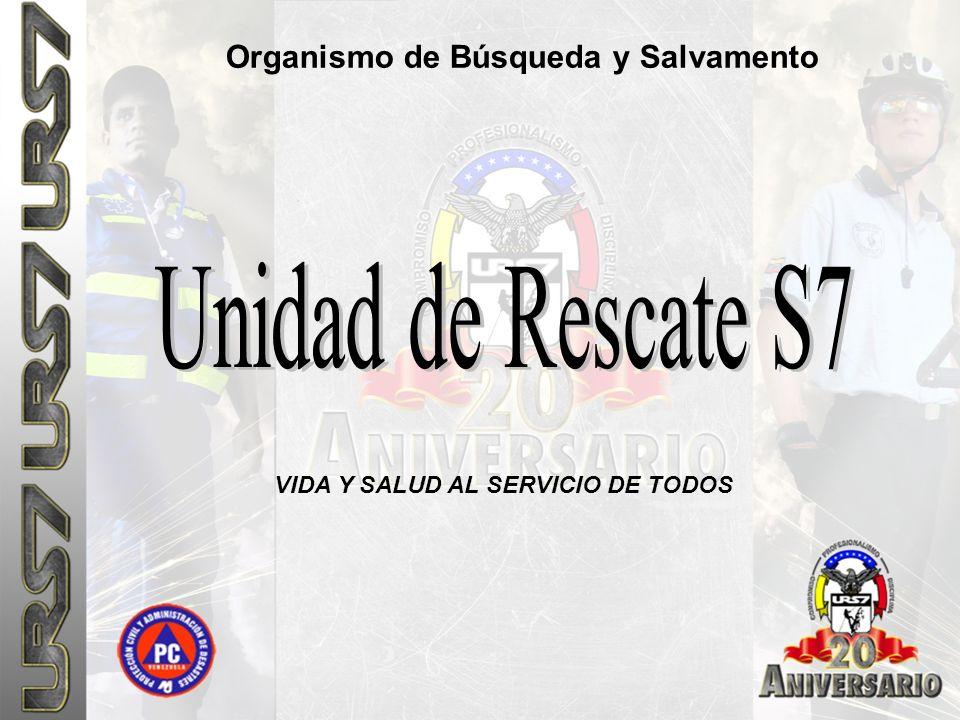 Organismo de Búsqueda y Salvamento VIDA Y SALUD AL SERVICIO DE TODOS