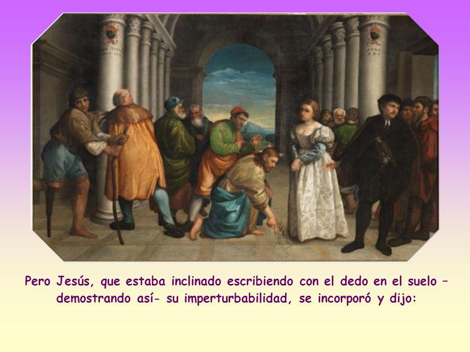 Cuando aquellos hombres se alejaron de la adúltera, sólo quedaron dos allí – dice Agustín, obispo de Hipona-: la miserable y la misericordia .