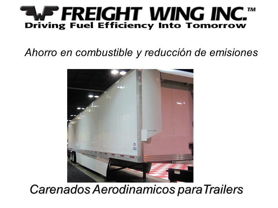 Carenados Aerodinamicos paraTrailers Carenados Aerodinamicos paraTrailers Ahorro en combustible y reducción de emisiones
