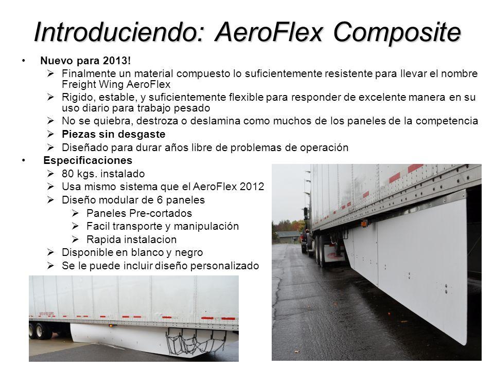 Introduciendo: AeroFlex Composite Nuevo para 2013! Finalmente un material compuesto lo suficientemente resistente para llevar el nombre Freight Wing A