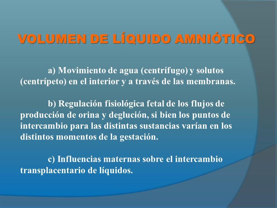 OLIGOAMNIOS: CLÍNICA SECUNDARIA A LA CAUSA ETIOLÓGICA ASINTOMÁTICO (HALLAZGO ECOGRÁFICO) COMPLICACIONES: Malformaciones fetales.