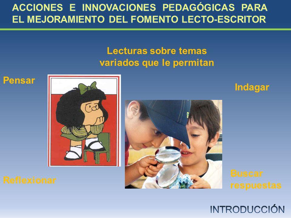 ¿Cómo implementar acciones e innovaciones pedagógicas que coadyuven al mejoramiento del fomento lecto- escritor entre los estudiantes de la Institución Educativa Luis Patrón Rosano de Tolú?