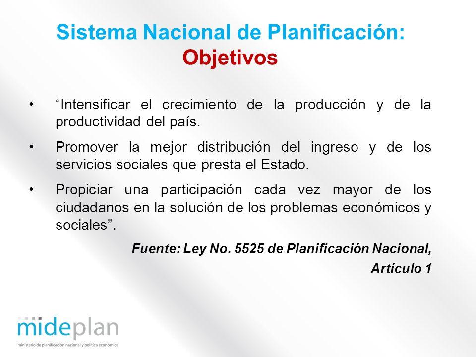 Intensificar el crecimiento de la producción y de la productividad del país. Promover la mejor distribución del ingreso y de los servicios sociales qu