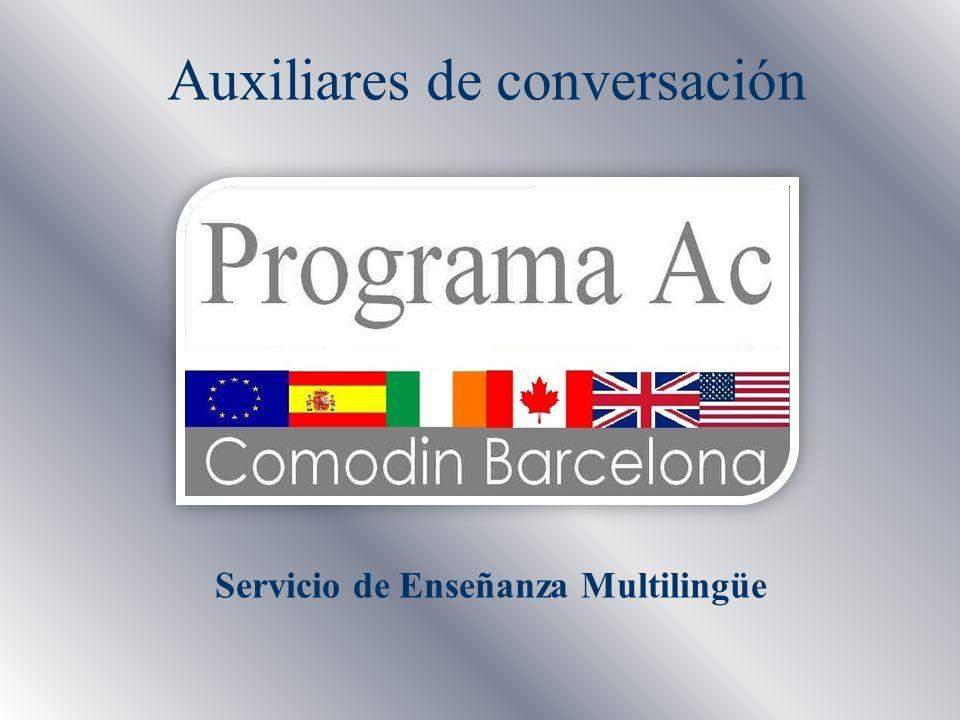 Servicio de Enseñanza Multilingüe Auxiliares de conversación