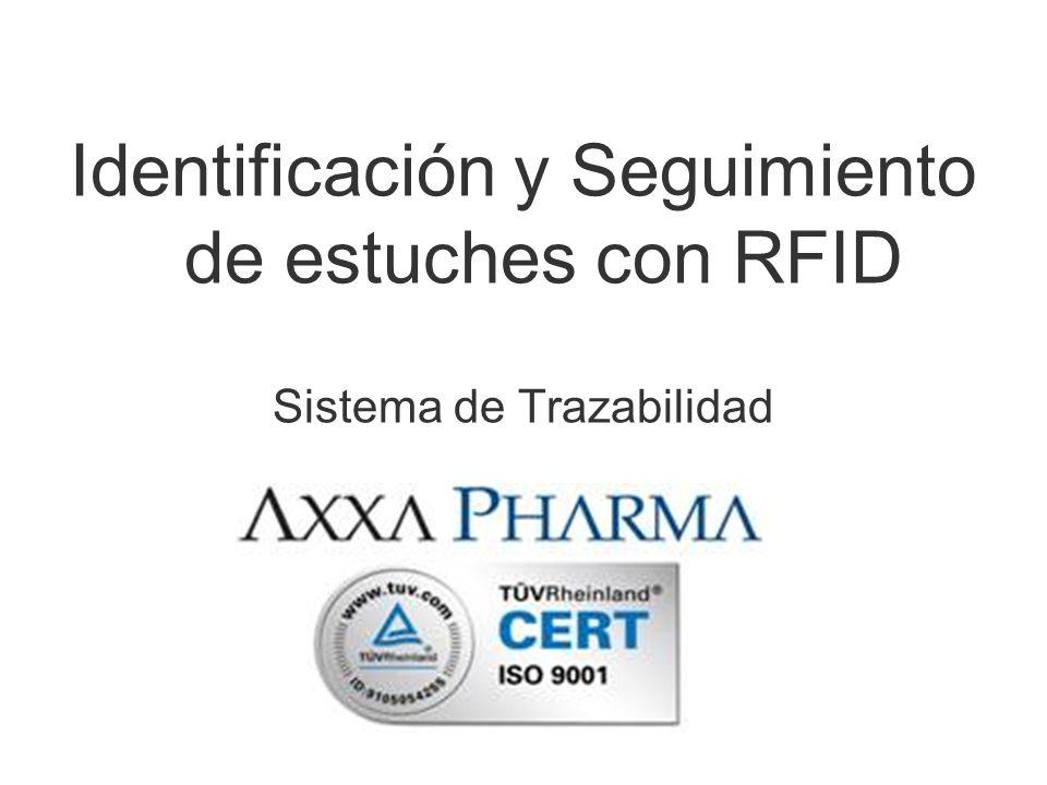 Identificación y Seguimiento de estuches con RFID Sistema de Trazabilidad